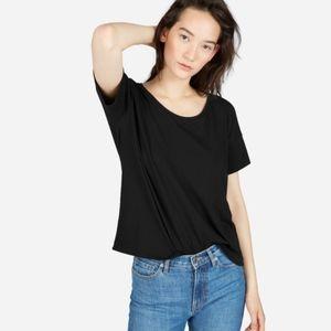 everlane | square boxy classic cotton tee shirt L